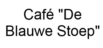 Café De Blauwe Stoep