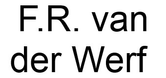 F.R. van der Werf