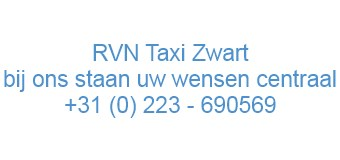 RVN Taxi Zwart