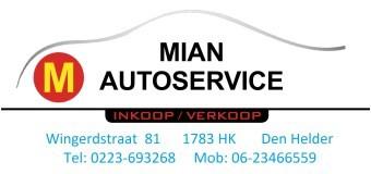 MIAN AutoService Den Helder