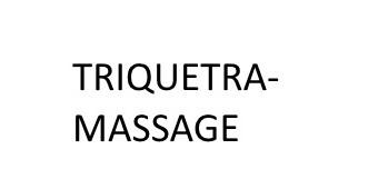 TRIQUETRA MASSAGE